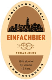 Vorarlberg tall oval labels