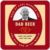 Vorarlberg father's day coasters