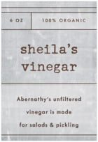 Vintage Unfiltered Tall Rectangle Label In Shale