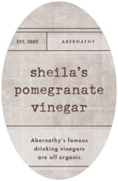 Vintage Unfiltered tall oval labels