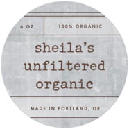 Vintage Unfiltered Large Circle Label In Shale