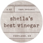 Vintage Unfiltered circle labels