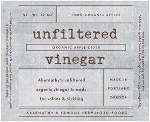 Vintage Unfiltered large wide labels