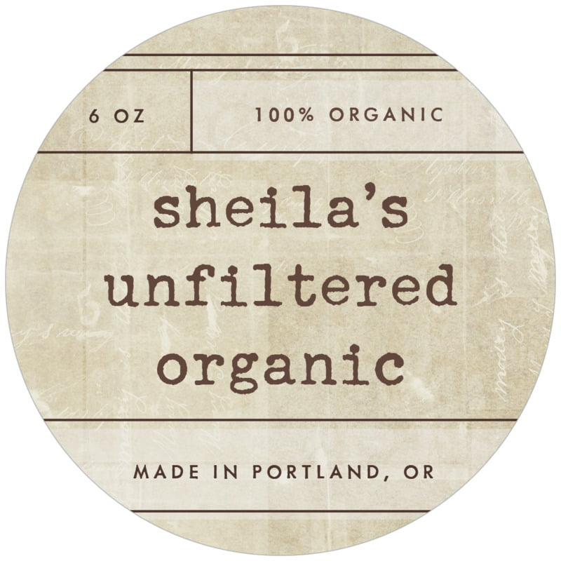 circle food/craft labels - sand - vintage unfiltered (set of 12)