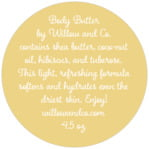 Willow circle text labels