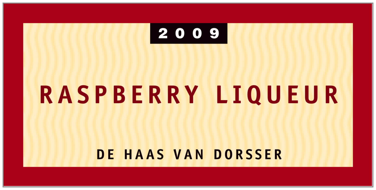 small rectangular food/craft labels - red - waterfront park (set of 24)