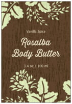 Woodland Bliss tall rectangle labels