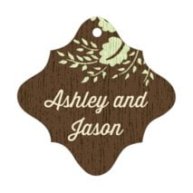 Woodland Bliss fancy diamond hang tags