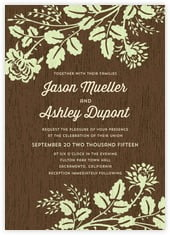 Woodland Bliss invitations