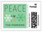 Winter Cheer small postage stamps