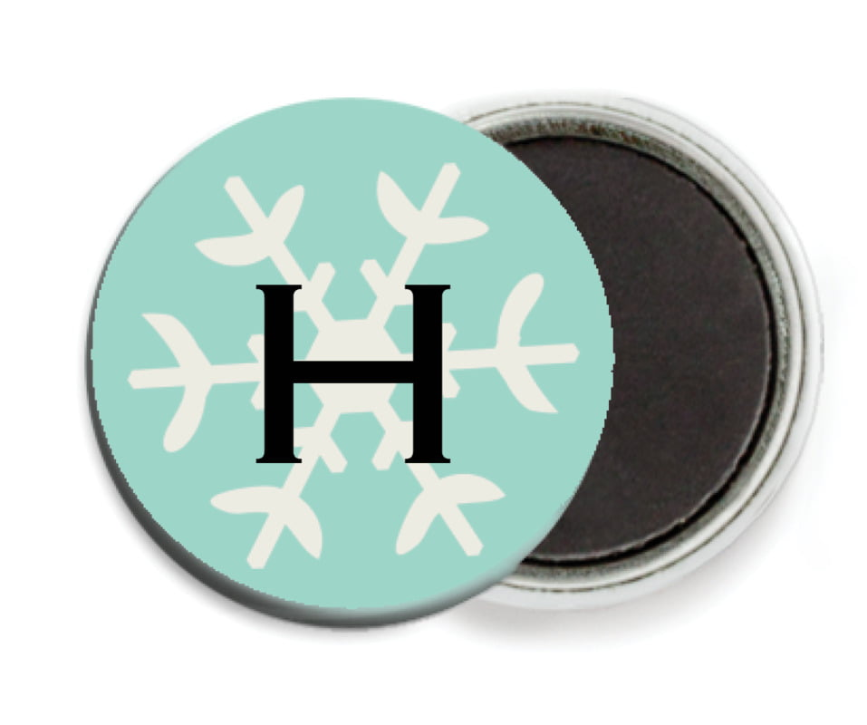 custom button magnets - aruba - winter cheer (set of 6)
