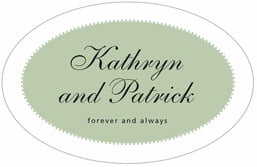 Westchester large oval labels