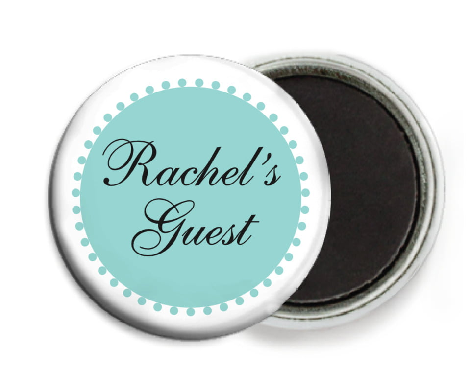custom button magnets - aruba - westchester (set of 6)