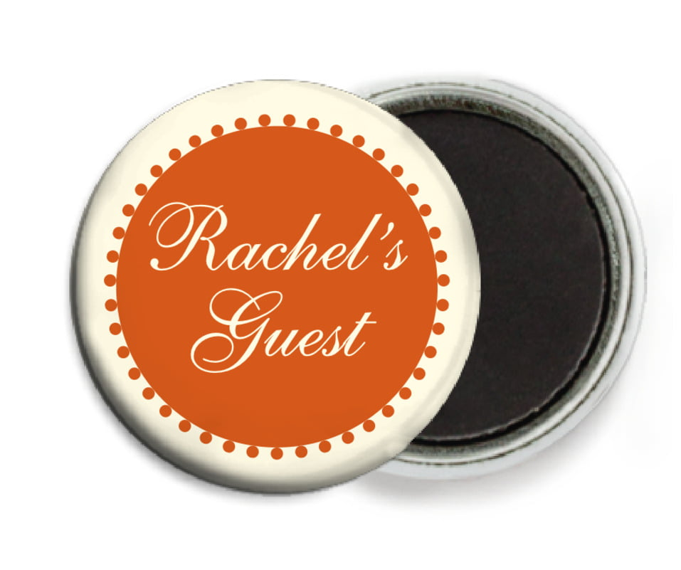 custom button magnets - spice - westchester (set of 6)