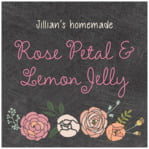Whimsical Floral square labels