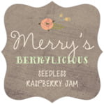 Whimsical Floral fancy square labels