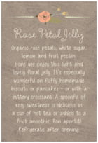 Whimsical Floral text labels