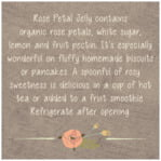 Whimsical Floral square text labels