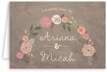 Whimsical Floral folding cards