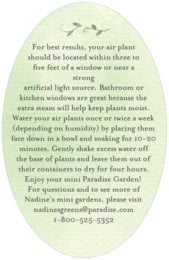 Watercolor Spring oval text labels