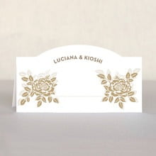 Whimsical Romance place cards