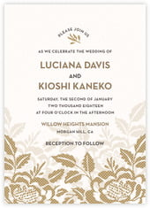 Whimsical Romance invitations