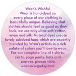 Watercolor Wash circle text label