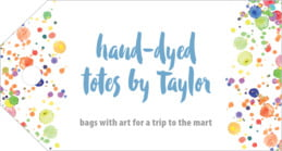 Watercolor Droplets luggage tags