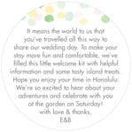 Watercolor Confetti circle text labels