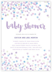 Watercolor Confetti cards