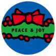 Wreath small round labels