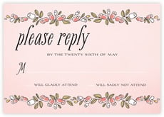 Sweet Rose response cards