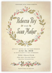 Sweet Rose invitations