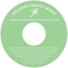 Elements Icon Cd Label In Light Green