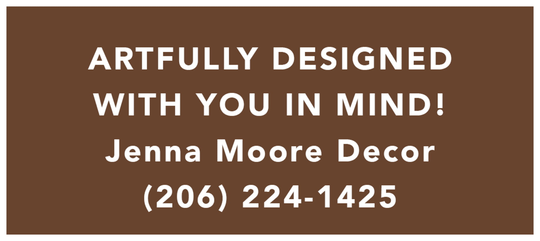 Small Rectangular Custom Text Labels - Chocolate - Elements Icon
