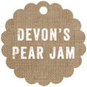 Elements Burlap Scallop Hang Tag In Burlap Basic
