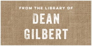 Elements Burlap small bookplates