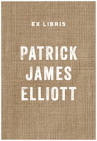 Elements Burlap Rectangle Book Label In Burlap Basic