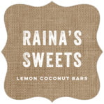 Elements Burlap fancy square labels
