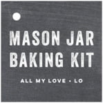 Elements Chalkboard square hang tags