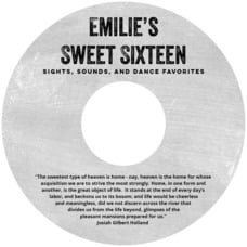 Elements Chalkboard cd labels