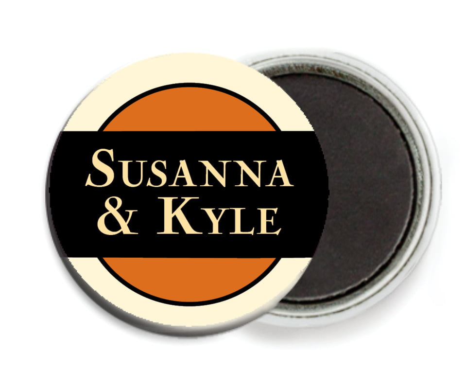 custom button magnets - spice - xenith (set of 6)