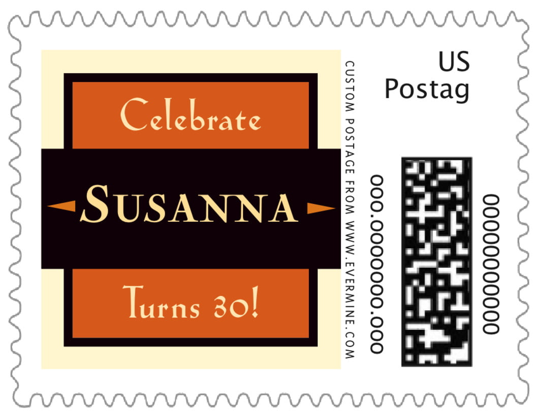 small custom postage stamps - spice - xenith (set of 20)
