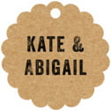 Elements Kraft scallop hang tags