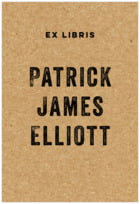 Elements Kraft large bookplates