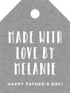 Elements Kraft small luggage tags