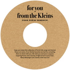 Elements Kraft cd labels