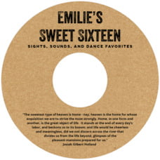 Elements Kraft Cd Label In Kraft Basic