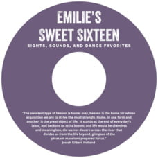 Elements Cd Label In Plum