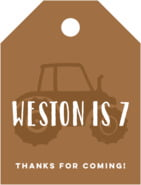 Elements Watermark small luggage tags